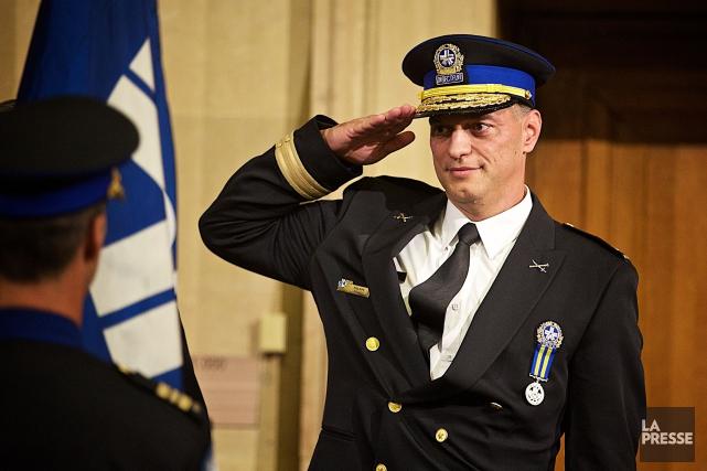 Le nouveau directeur du SPVM, Philippe Pichet... (Photo André Pichette, La Presse)