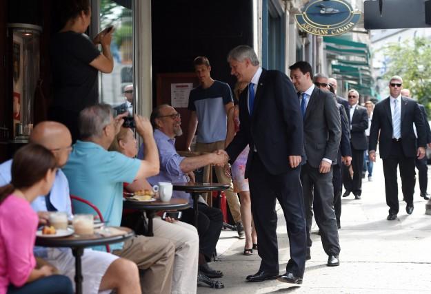«Le premier ministre Harper pourra se défendre en... (PHOTO SEAN KILPATRICK, LA PRESSE CANADIENNE)