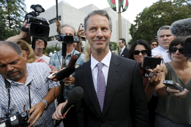 Nigel Wright, ancien chef de cabinet de l'ex-premier... (PHOTO CHRIS WATTIE, ARCHIVES REUTERS)