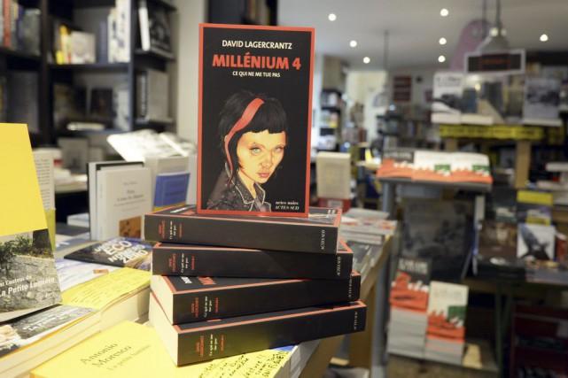 Le quatrième volet de la série Millenium est... (Miguel Medina, AFP)