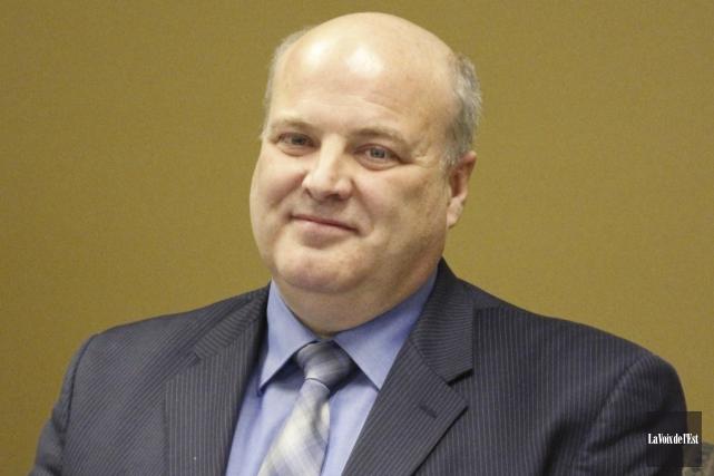 L'ex-directeur général de la commission scolaire, André Messier.... (photo archives La Voix de l'Est)