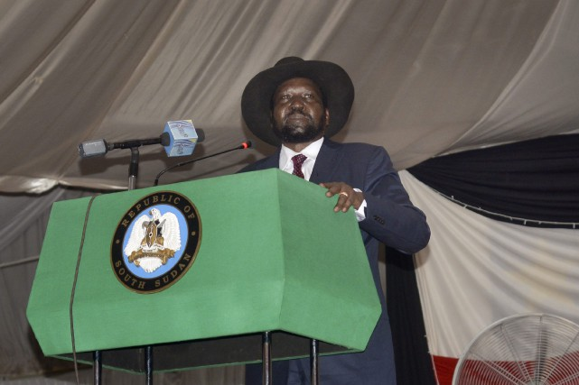 Le président du Soudan du Sud, Salva Kiir.... (Photo Jason Patinkin, archives Associated Press)