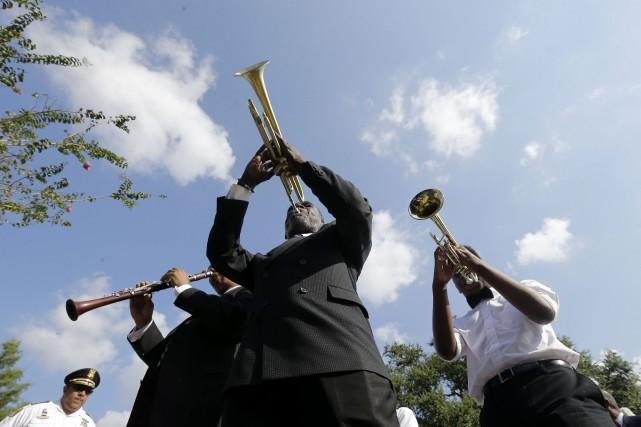 Des concerts sont prévus partout dans la ville... (Photo Gerald Herbert, AP)
