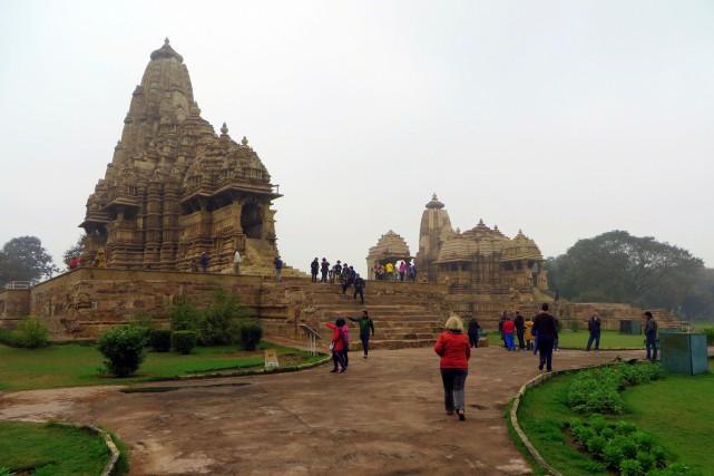 Les temples du kama sutra de Khajuraho sont... (La Tribune, Jonathan Custeau)