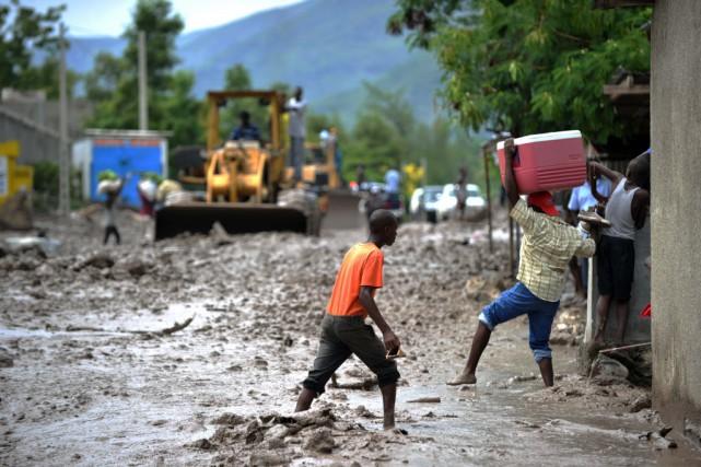 Comme la République dominicaine, Haïti n'a enregistré que... (PHOTO HECTOR RETAMAL, AFP)