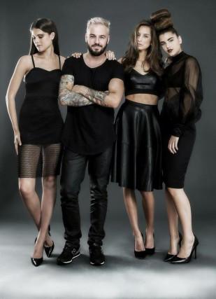 Le coiffeur Marcus Villeneuve aime proposer différents styles... (Photo courtoisie)