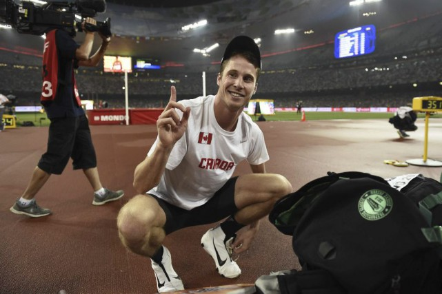 Derek Drouin... (PHOTO FRANCK FIFE, AP)