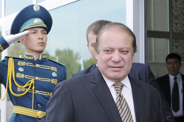 Le premier ministre pakistanais Nawaz Sharif sera à... (Photo AFP)
