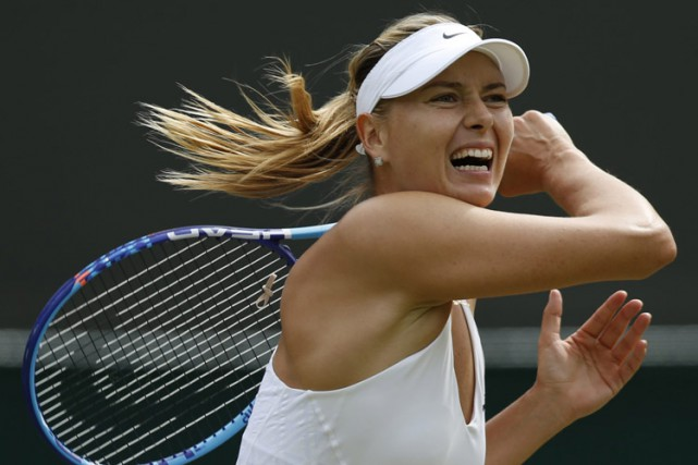 Maria Sharapova... (PHOTO AP)