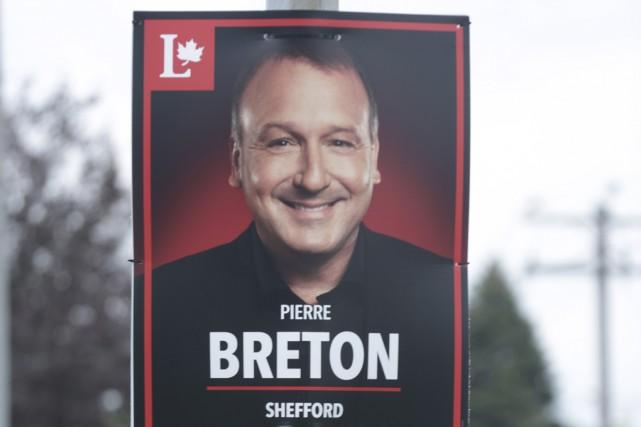 L'équipe du candidat libéral dans Shefford, Pierre Breton,... (photo Catherine Trudeau)