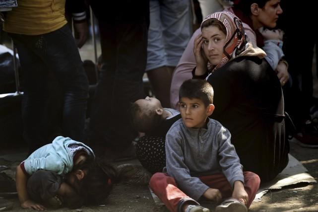 Sur la «route des Balkans», des milliers de... (Agence France-Presse)