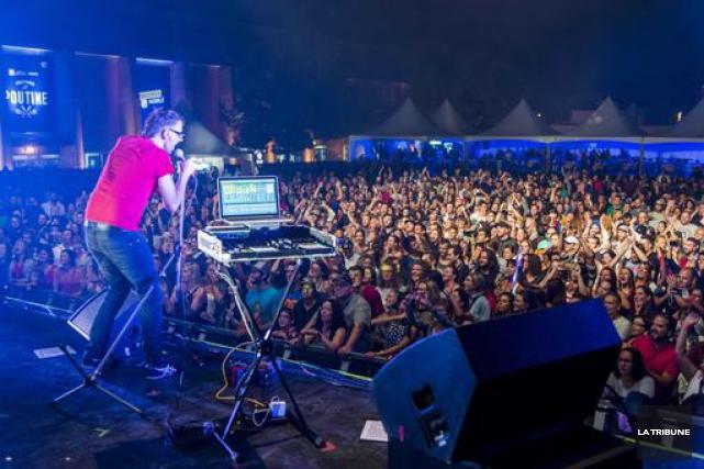 Le spectacle de DJ Champion a été l'un... (Imacom, Frédéric Côté)