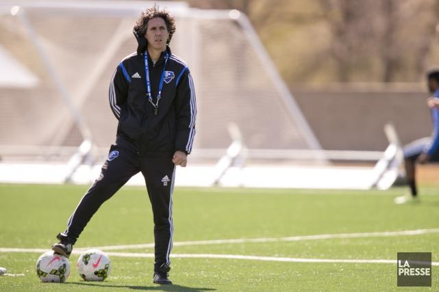 L'ex-joueur étoile de l'Impact Mauro Biello devient entraîneur-chef... (PHOTO DAVID BOILY, archives LA PRESSE)