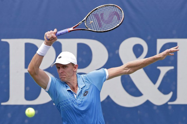Kevin Anderson... (Photo Gerry Broome, AP)