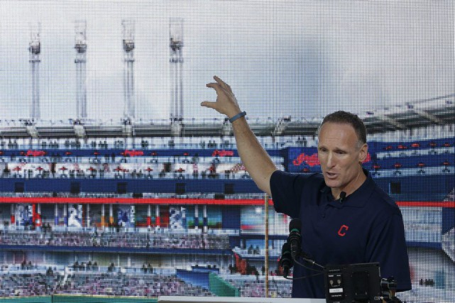 Mark Shapiro... (Photo Tony Dejak, archives AP)
