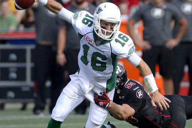 Justin Capicciotti a mené les siens avec trois... (La Presse Canadienne)
