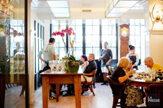 Une expérience à table réellement différente, pour les... (PHOTO SARAH MONGEAU-BIRKETT, LA PRESSE)