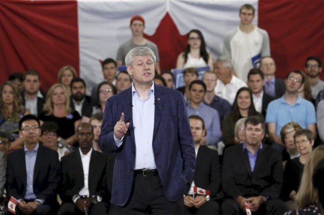 Stephen Harper... (PHOTO CHRIS WATTIE, REUTERS)