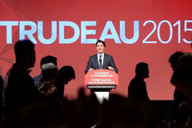 Justin Trudeau est le dernier des leaders des... (Photo La Presse Canadienne, Paul Chiasson)
