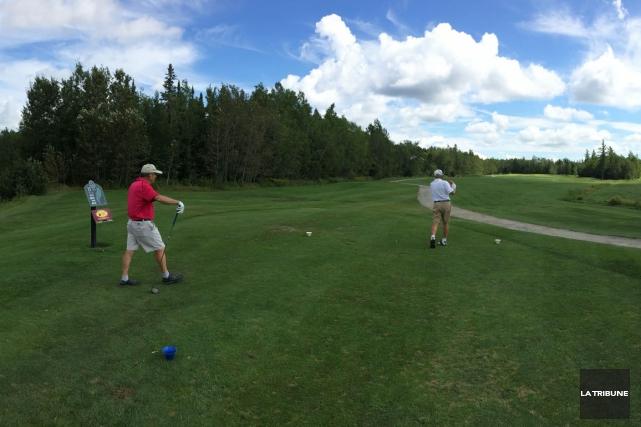 Ils sont très rares, les terrains de golf en région qui peuvent se targuer... (La Tribune, Sébastien Lajoie)