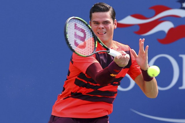 Raonic, 10e tête de série, a été mis... (Photo USA Today Sports)