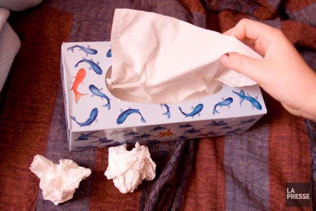 Les personnes en manque de sommeil ont quatre fois plus de risques d'attraper... (Photo Alain Roberge, archives La Presse)
