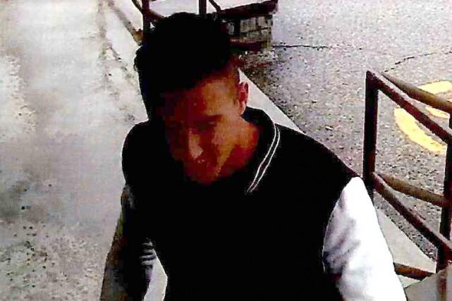 Un trafiquant de stupéfiants a été capté sur le fait par des caméras de... (Photo fournie par le SPS)