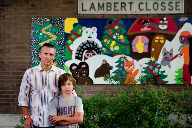 Comme 16 autres élèves de l'école Lambert-Closse, Malik... (Photo Marco Campanozzi, La Presse)