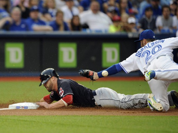 Josh Donaldson a eu la chance de jouer... (USA TODAY Sports)