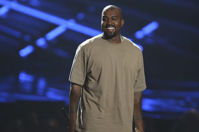 Kanye West aux MTV Video Music Awards dimanche.... (PHOTO AP)