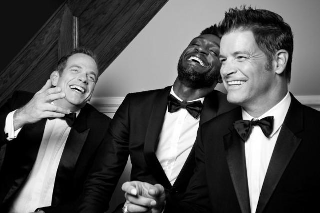 Garou, Roch Voisine et Corneille offriront Forever Gentlemen, le 9... (PHOTO FOURNIE PAR MUSICOR)