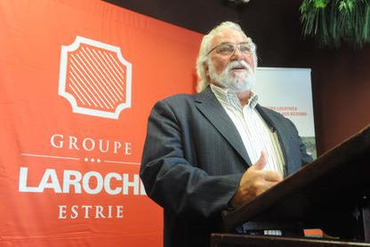 Michel Laroche... (Archives La Tribune, Maxime Picard)