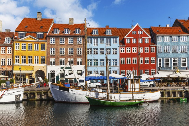 Copenhague, au Danemark.... (Photo Digital/Thinkstock)