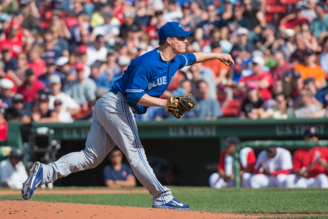 Le releveur des Blue Jays Aaron Loup.... (Photo Gregory J. Fisher, archives USA Today)