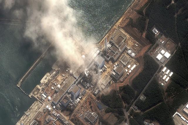 Un incendie s'est déclaré dans le réacteur numéro3... (PHOTO ARCHIVES REUTERS/DIGITAL GLOBE)