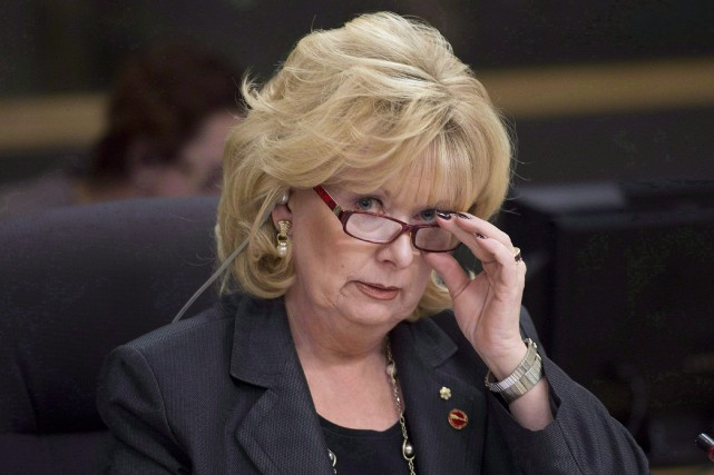 Pamela Wallin... (PHOTO ARCHIVES LA PRESSE CANADIENNE)