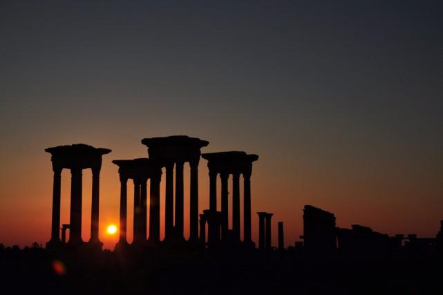 En s'attaquant aux monuments, l'EI savait qu'il allait... (Photo AP)