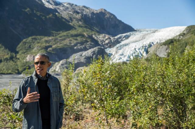 Barack Obama s'est adressé aux médias mardi lors... (PHOTO AP)