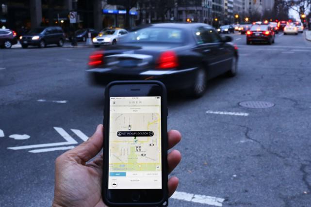 Uber avait tenté de s'opposer à l'autorisation de... (PHOTO AFP)