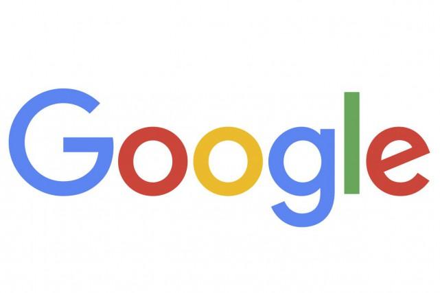 Le nouveau logo de Google... (Photo fournie par Google)