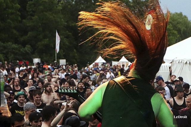 Le Rockfest a attiré cette année une fois... (Etienne Ranger, archives LeDroit)