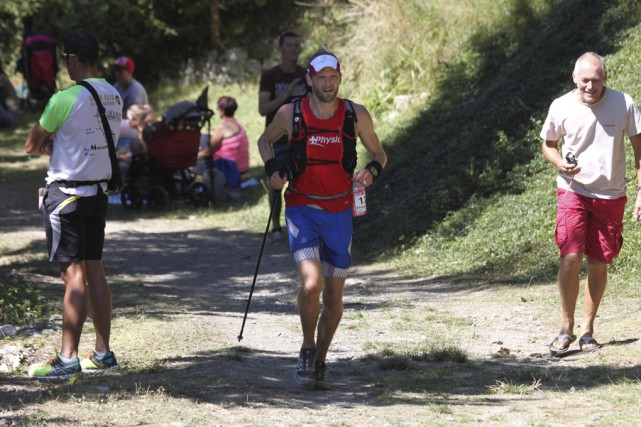 Alister Gardner a bien fait à l'Ultra-Trail du... (photo fournie, Clothilde Mondor)