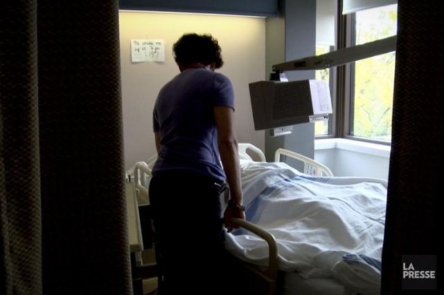 Si l'aide médicale à mourir n'est pas offerte... (PHOTO MATHIEU WADDELL, ARCHIVES LA PRESSE)