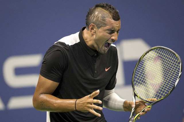 Nick Kyrgios... (PHOTO REUTERS)
