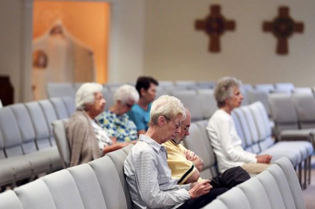 Les catholiques américains, que le pape François doit rencontrer à la fin du... (PHOTO REUTERS)