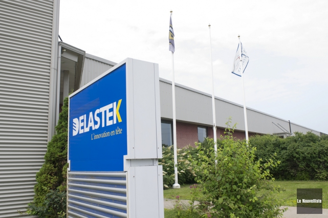 La cinquantaine d'employés de Delastek à Shawinigan sont... (Photo: Stéphane Lessard, Le Nouvelliste)