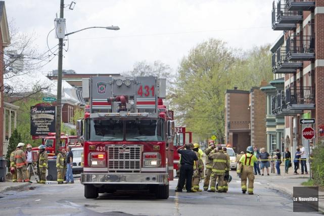 Le service de Sécurité incendie de Trois-Rivières va... (Photo: Archives, Le Nouvelliste)