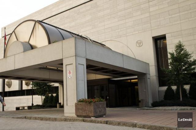 Le palais de justice d'Ottawa... (Martin Roy, LeDroit)