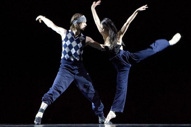 La compagnie de danseLA LA LA Human Steps... (Archives, La Presse)