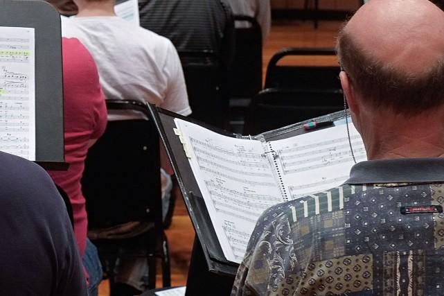 Bonne nouvelle pour les chanteurs de la Chorale des Mélodies d'Antan, une... (Archives La Presse)